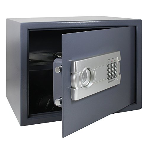 hmf tresor safe m beltresor elektronikschloss 380 x 300 x 300 mm g nstig kaufen. Black Bedroom Furniture Sets. Home Design Ideas