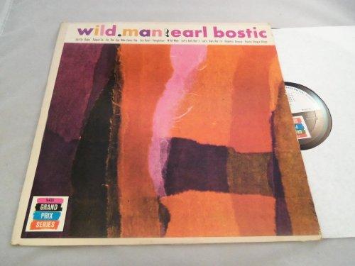 Wild, Man! LP - The Grand Prix Series - K 416