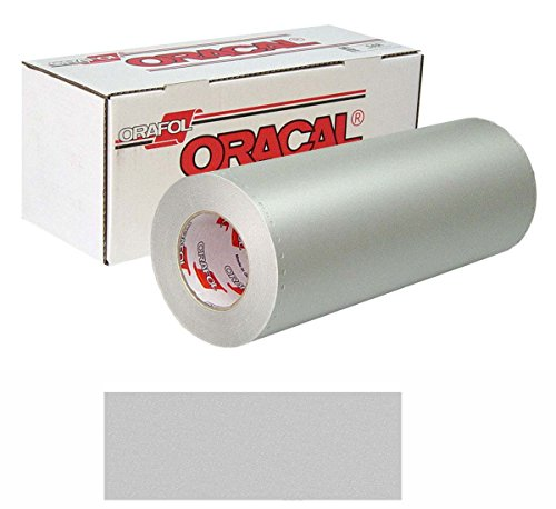 ORACAL 8510 Etched 15In X10Yd 090 Silver-Fine ()