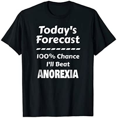 Today's Forecast | 100% Chance I'll Beat Anoerxia