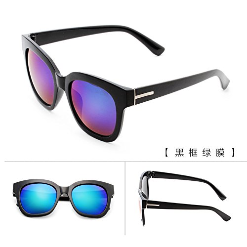 nouveau cycle des lunettes de soleil madame le visage rond korean rétro - yeux star des lunettes des lunettes de soleil la maréeboîte noire white mercure (tissu) iYTnwS