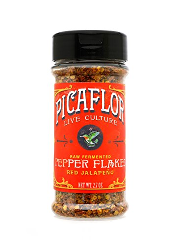 Picaflor Red Jalapeño Organic Fermented Probiotic Pepper Fl