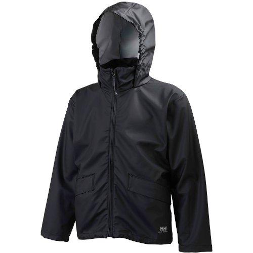 Helly Hansen Voss Waterproof Jacket/Mens Workwear (L) (Black) by Helly Hansen