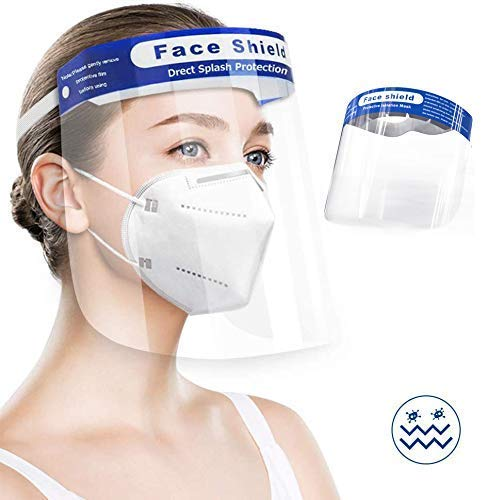 Clazkit – CFS250-5 Face Shield Safety Mask PET 250 microns, pack of 5 Price & Reviews