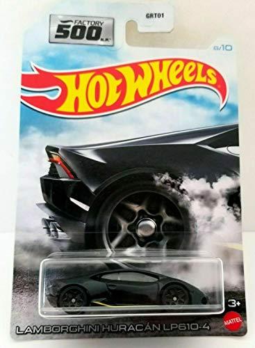 DieCast Hotwheels Lamborghin Huracan LP610-4 (Black) 8/10 - Factory 500