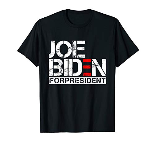 Joe Biden President 2020 Election Democratic Distressed Tee T-Shirt]()