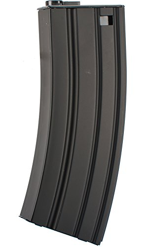 Evike - Matrix 450rd Delta Metal Hi-Cap Magazine for M4 M16 Series Airsoft AEG Rifles