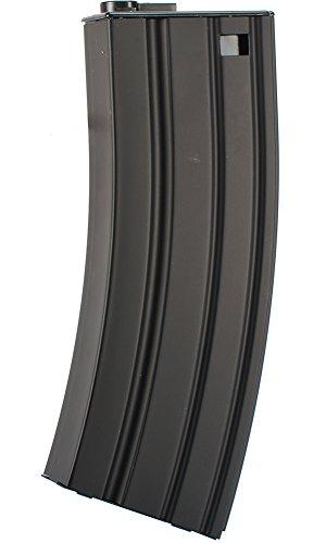 Evike - Matrix 190rd Delta Metal Mid-Cap Magazine for M4 M16 Series Airsoft AEG -