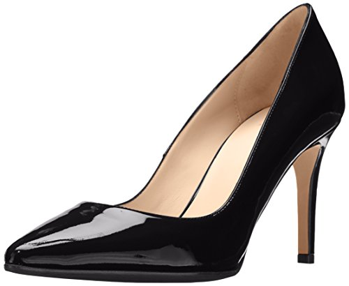 Aquatalia Womens Harlee Patent Dress Pump Black