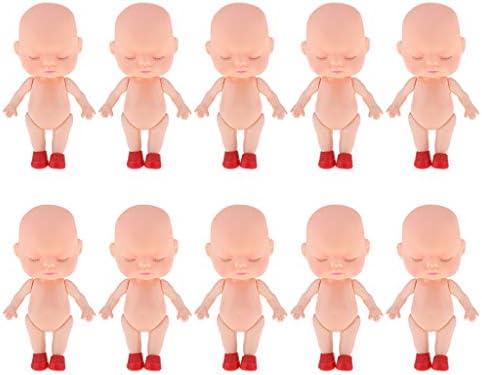 ベビードール 睡眠ミニベビードール ミニチュア 新生児人形 プレゼント 約10点入り