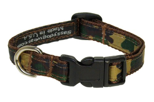 Inch Camouflage Dog Collar, X-Small ()