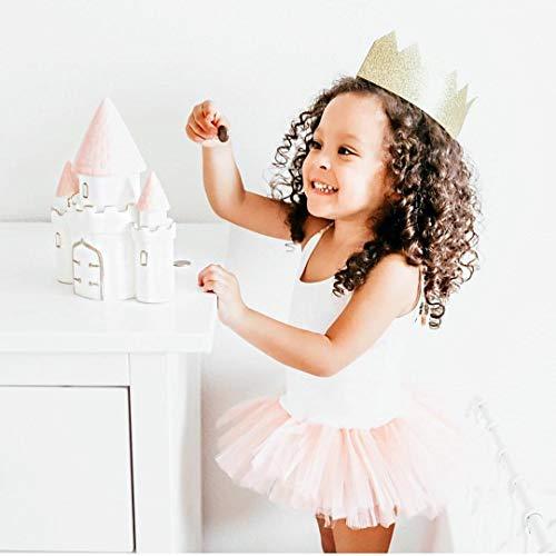 Child to Cherish Ceramic Dream Big Princess Castle Piggy Bank for Girls, Pink by Child to Cherish (Image #5)