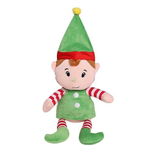 HollyHOME Elf Stuffed Toy Elf Plush Doll Birthday Gifts 19 Inches Green -