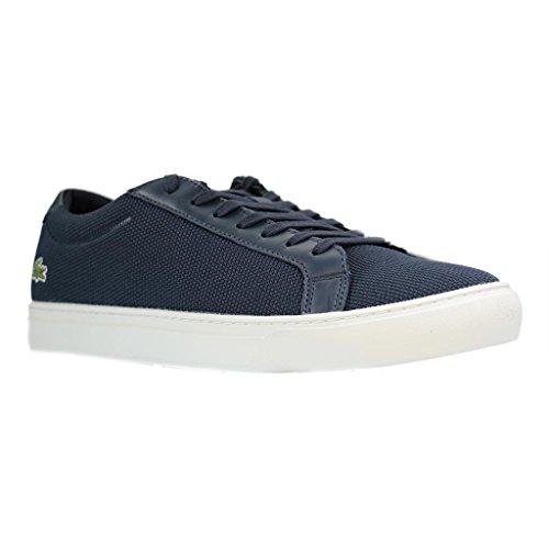 Hommes Lacoste L.12.12 Sneaker Bl 2, Bleu, Bleu