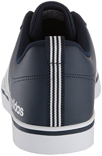Adidas Menns Vs Tempo Sneaker Kollegialt Navy / Hvit / Blå