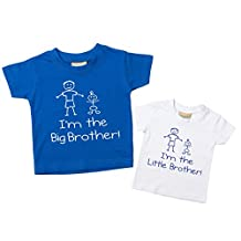 60 Second Makeover Limited Baby Boys' I'm The Big Brother I'm The T-Shirt Set