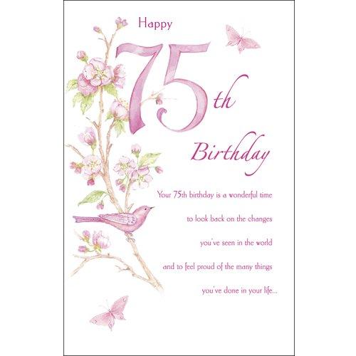 Amazon happy 75th birthday birthday greetings card home amazon happy 75th birthday birthday greetings card home kitchen bookmarktalkfo Images