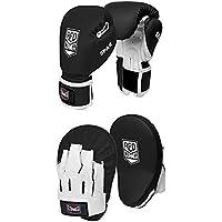 Red Corner Boxing Spar Junior Focus Kit - Black