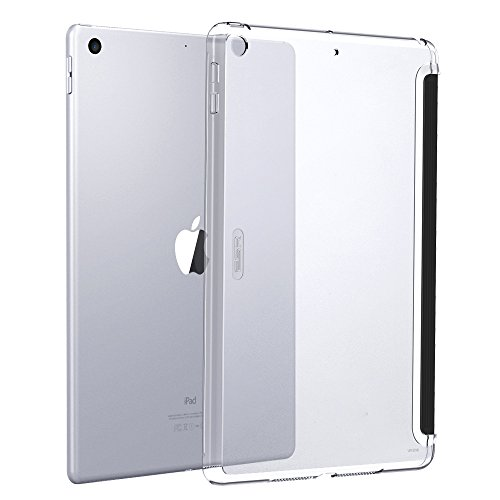 (ESR iPad 9.7 inch Case 2018/2017, Clear Hard Case Slim Fit Back Shell Cover [Lightweight] Compatible for iPad 9.7 inch iPad 5th/6th (Clear))