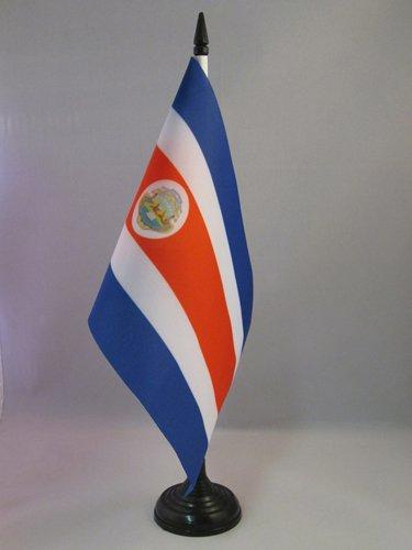 AZ FLAG Bandera de Mesa de Costa Rica 21x14cm - BANDERINA de ...