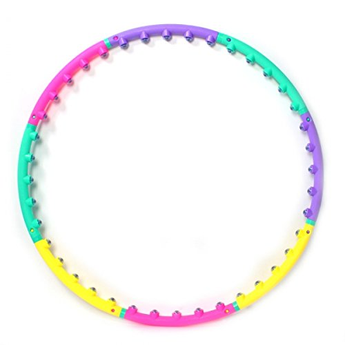 New Hula Hoop Magnetic Therapy Massage Hula Hoop Slim Abdominal Exercise