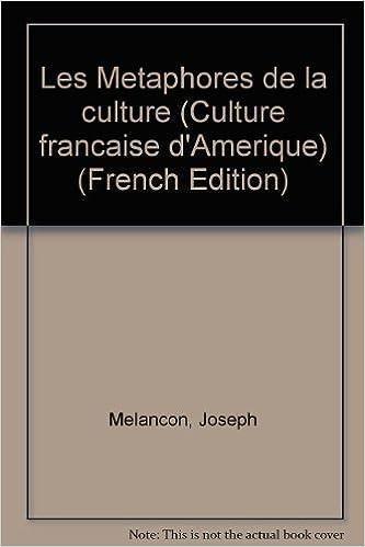 En ligne téléchargement Les Métaphores de la culture pdf, epub ebook