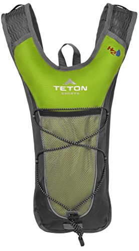 Hydration Camelback Systems (Teton Sports Trailrunner 2 Liter Hydration Backpack; Perfect for Trail Running, Cycling, Hiking, and Climbing; BPA Free; 2L Water Bladder Keeps You Cool When You're Outdoors; Bright Green)