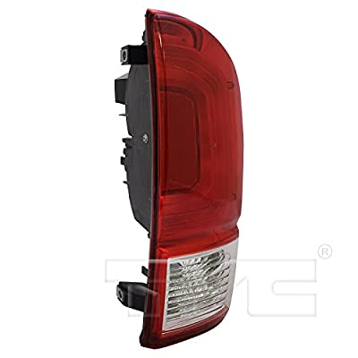 TYC 11-6849-00-1 Replacement Right Tail Lamp Compatible with Toyota Tacoma: Automotive