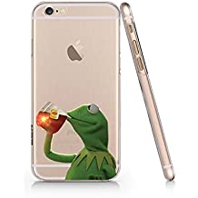 Kermit The Frog Clear Transparent Plastic Phone Case/Phone Cover for iphone 6 6s _ SUPERTRAMPshop (iphone 6)