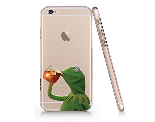 Frog Clear Transparent Plastic Phone Case/Phone Cover for iPhone 6 6s SUPERTRAMPshop (iPhone 6)