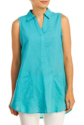 Linen And Silk Tunic - 8