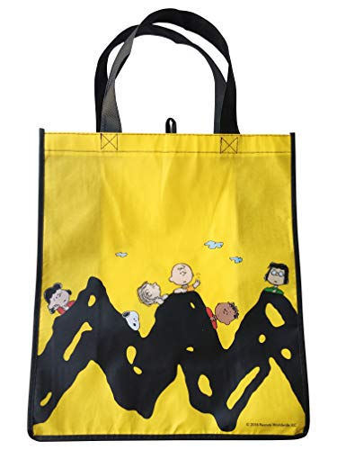 Snoopy Peanuts Charlie Brown Large Reusable Tote Bag