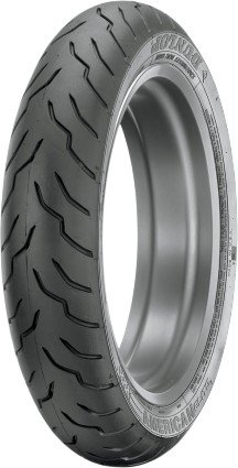Dunlop American Elite HD Touring Tire - Front - 130/80B17 , Position: Front, Rim Size: 17, Tire Application: Touring, Tire Size: 130/80-17, Tire Type: Street, Load Rating: 65, Speed Rating: H, Tire Construction: Bias 34AE-81 by Dunlop Tires