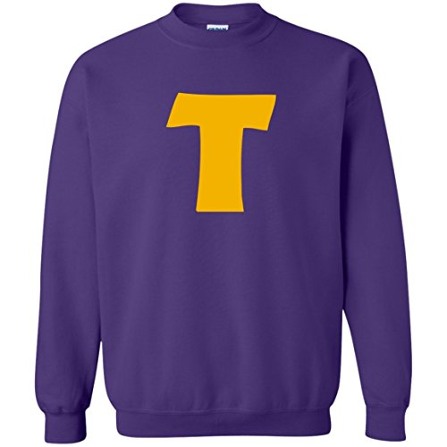 Token's Purple 'T' Sweatshirt -