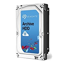 Seagate 8TB Archive HDD SATA 6GBps 128MB Cache SATA Internal Bare Drive (ST8000AS0002)
