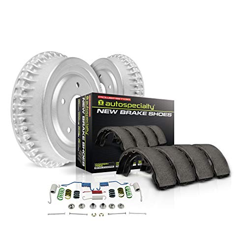 Power Stop Rear KOE15389DK Daily Driver Drum and Shoe Kits ()