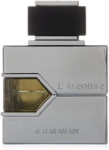 Al Haramain L'Aventure Eau de Parfum, 3.33 Ounce (100 ml) - For Creed Aventus Lovers