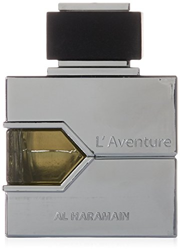 Al Haramain L'Aventure Eau de Parfum, 3.33 Ounce (100 ml) - For Creed Aventus Lovers