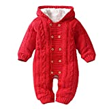 Unisex Baby Onesie Hooded Romper Jumpsuit Newborn