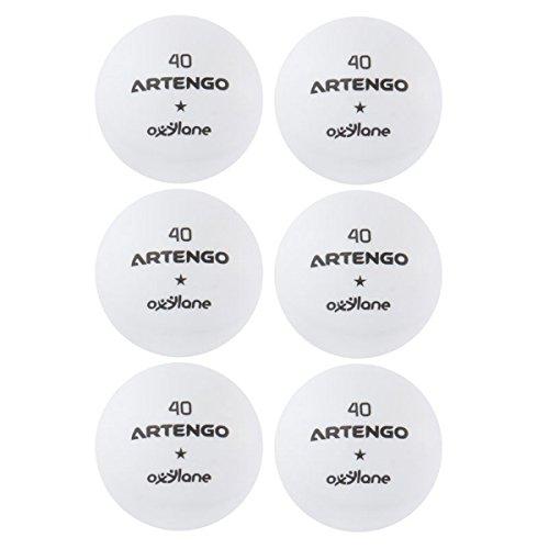 Artengo FB800 Artengo Table Tennis Balls  White