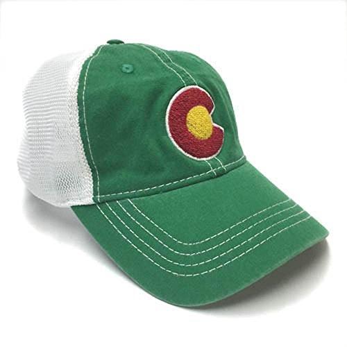 YoColorado Vintage Irish Green Mesh Trucker Hat