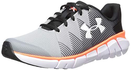 Under Armour Boys' Grade School X Level Scramjet 2 Sneaker, Black (001)/Mod Gray, 6.5 M US Big ()