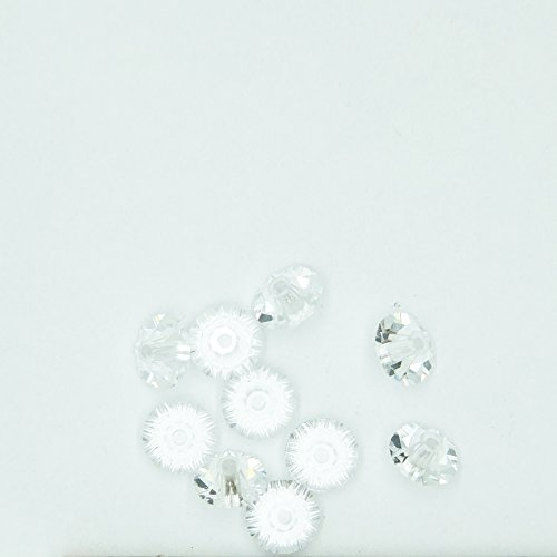 Rondel Spacer - Crystal Swarovski 5mm Rondel Spacer Bead Made in Austria
