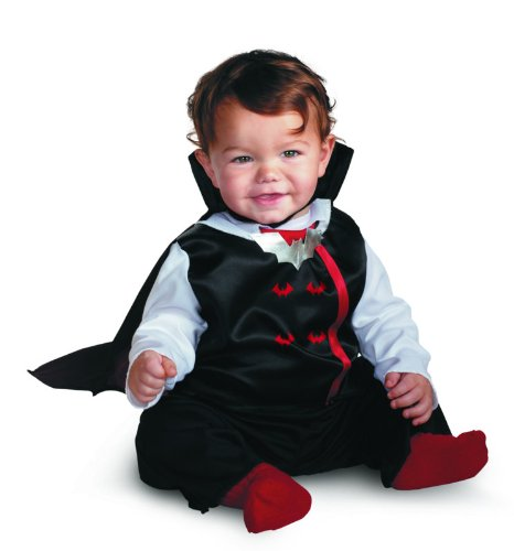 [Little Bite Vampire Costume (12-18 months)] (Toddler Vampire Halloween Costumes)