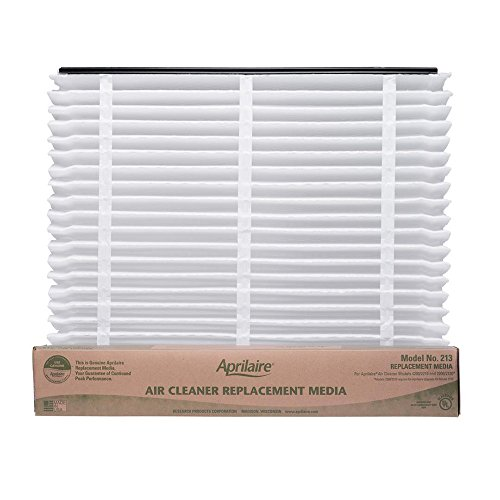 Aprilaire 213 Air Filter Single Pack for Air Purifier Models 1210, 2210, 3210, 4200, Space-Gard 2200 210 Single