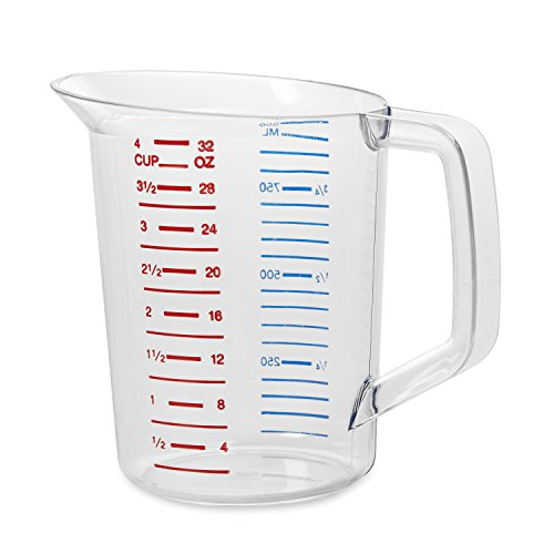 Polycarbonate Measuring Cup, 1 Quart FG321600CLR