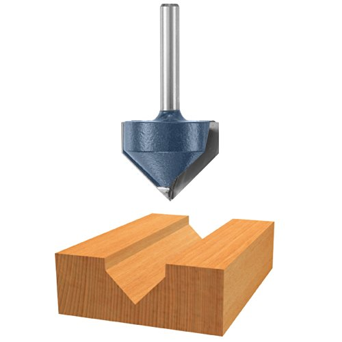 """Bosch 85220M 1-1/4"""" Carbide Tipped V-groove & Scoring Router"""