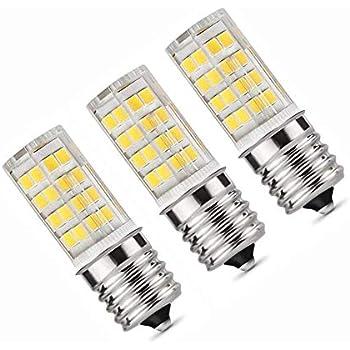 Amazon.com: 3-bulbs E17 Bombilla LED para horno de ...