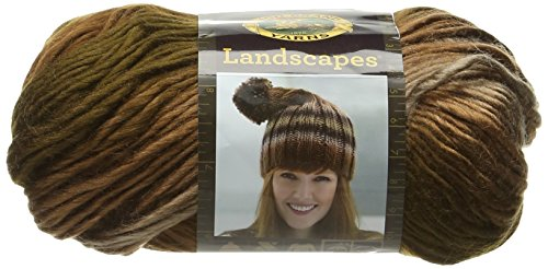 Lion Brand Yarn 600-617 Outlander Kit -Claire's Captivating Castle Leoch Shrug (Knit)