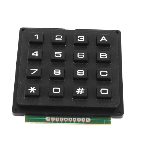 uxcell Matrix Keyboard Keypad Stamp